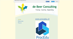 Preview of debeerconsulting.eu