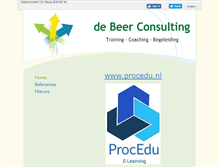 Tablet Preview of debeerconsulting.eu